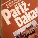 Kniha Paříž - Dakar z r. 1988